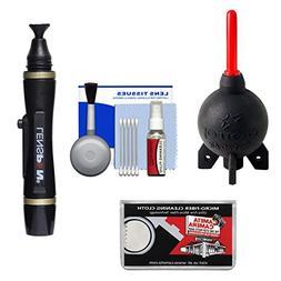 Giottos Rocket-Air Blower Professional AA1920 + Lenspen Lens
