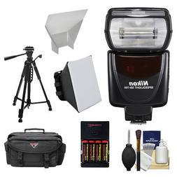 Nikon SB-700 AF Speedlight Flash + Softbox + Diffuser + Batt