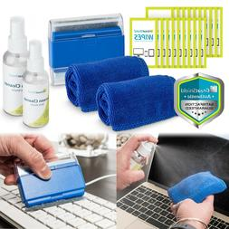 6in1 Screen Cleaning Kit Cloth Wipe Brush TV Tablet Laptop C