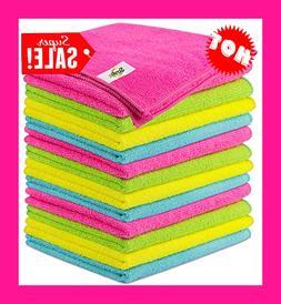 SCRUBIT Microfiber Cleaning Cloth Lint Free Anti-Bacterial T