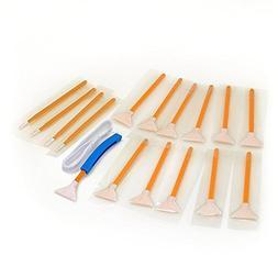 Sensor cleaning swabs Vswabs DHAP Orange 1.6x/16 mm 12 per p