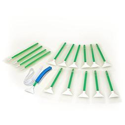 Sensor Cleaning swabs Vswabs MXD-100 Green 1.6X / 16 mm 12 p