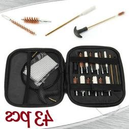 Set Handgun Cleaning Kit 43 Pcs Caliber Pistol Cleaning Kit