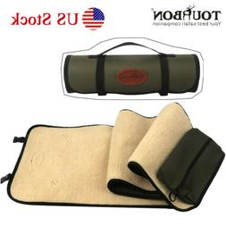 Tourbon Shotgun/Rifle Cleaning Mat Pad Clean Kits Pocket Rol