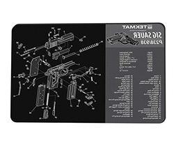 TekMat Sig Sauer P238/938 Gun Cleaning Mat / 11 x 17 Thick,