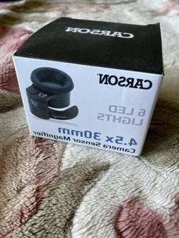CARSON SM-44 SensorMag LED Lighted Camera Sensor Magnifier