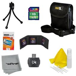 10pc Starter Accessory Kit for Nikon Coolpix L19, L20, L22,