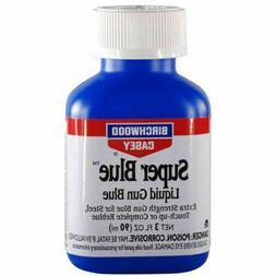 Birchwood Casey Super Blue Liquid Gun Blue 3 OZ 13425 NWT