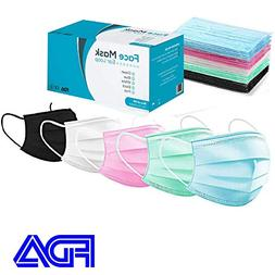 Surgical Face Mask - 50 - Disposable Masks for Medical Proce