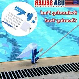 swimming pool and spa pond fountain vacuum