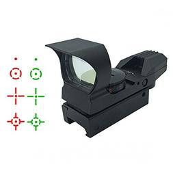 Ultimate Arms Gear Tactical CQB 4 Reticle Dual Red / Green O