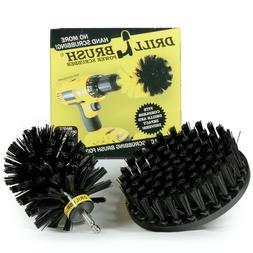 Drillbrush Ultra Stiff Drill powered cleaning brush kit for