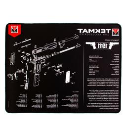 Ultra Thick Handgun Cleaning Mat with Exploded Diagrams, cho