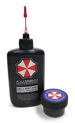 Umbrella Corporation Unicorn Lube Gun Oil Plus .5oz Jar Aero