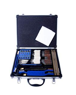 Gunmaster Univ Select Gun Cleaning Kit with Aluminum Case ,