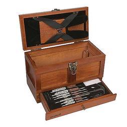 Universal Gun Cleaning Kit Rifle Shotgun Pistol Clean Set Wo