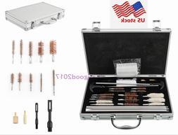 US 126ps Gun Barrel Cleaning Kit Tool Pro Pistol Rifle Shotg
