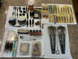 Vintage Gunslick Cleaning Brushes Outers Pistol Kit G96 Patc