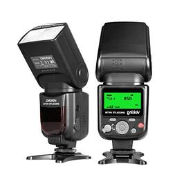 Voking VK750 Manual LCD Display Universal Flash Speedlite fo