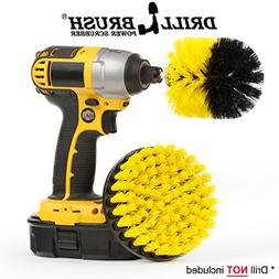 Bathroom Accessories - Cleaning Supplies - Drill Brush - Til