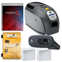 Zebra ZXP Series 3 Dual Sided ID Card Printer & Complete Sup